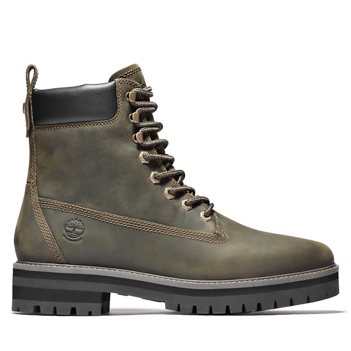 Courma Guy Winter Boot for Men in Green-