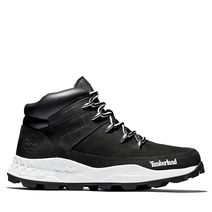 Brooklyn Euro Sprint Boot for Men in Black-