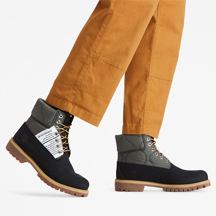 Tree Pack Premium 6-Inch-Stiefel für Herren in Schwarz-