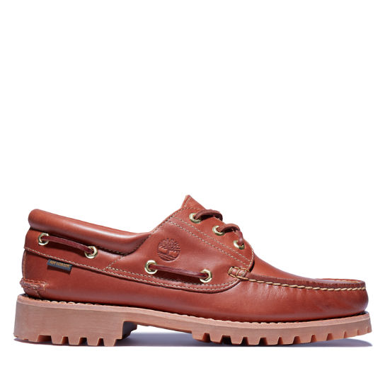 Aimé Leon Dore x Timberland® 3-Eye  Classic Lug Boat Shoe for Men in Brown | Timberland