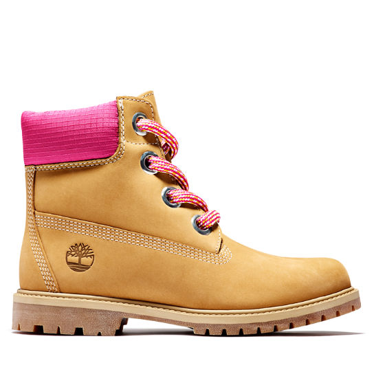 Heritage 6 Inch Pull-on Boot for Women in Yellow | Timberland