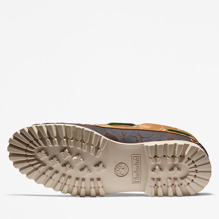 BAPE x Timberland® klassischer handgenähter Three-Eye-Schuh für Herren in Gelb-