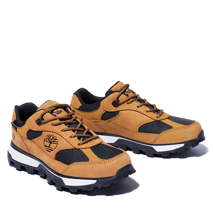 Bottine de randonnée Trail Trekker Gore-Tex® pour enfant en jaune-