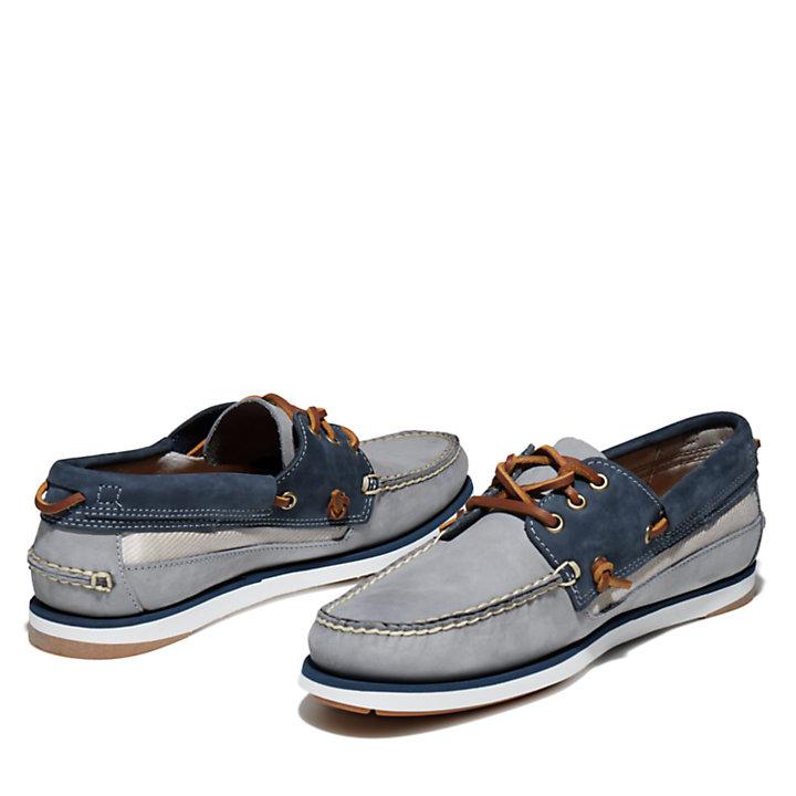 Chaussure bateau Atlantis Break pour homme en gris-
