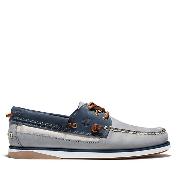 Atlantis Break Boat Shoe for Men in Grey-