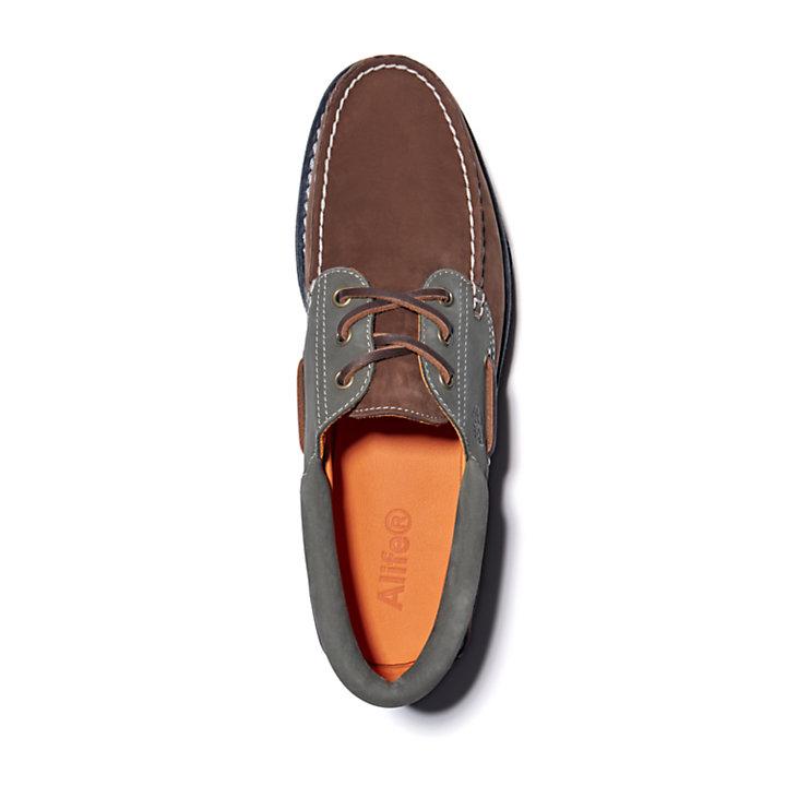 Náutico clásico con 3 ojales para hombre Alife x Timberland® en marrón-