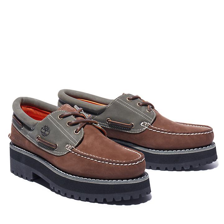 Alife x Timberland® 3-Eye Classic Lug Bootschoen voor heren in bruin-