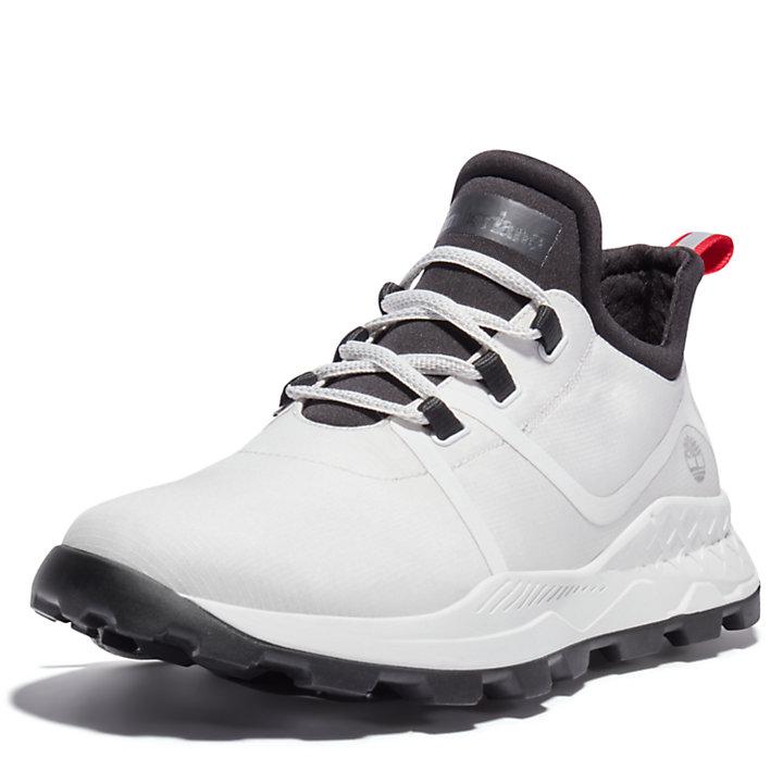 Brooklyn Sneaker van stof voor heren in wit-