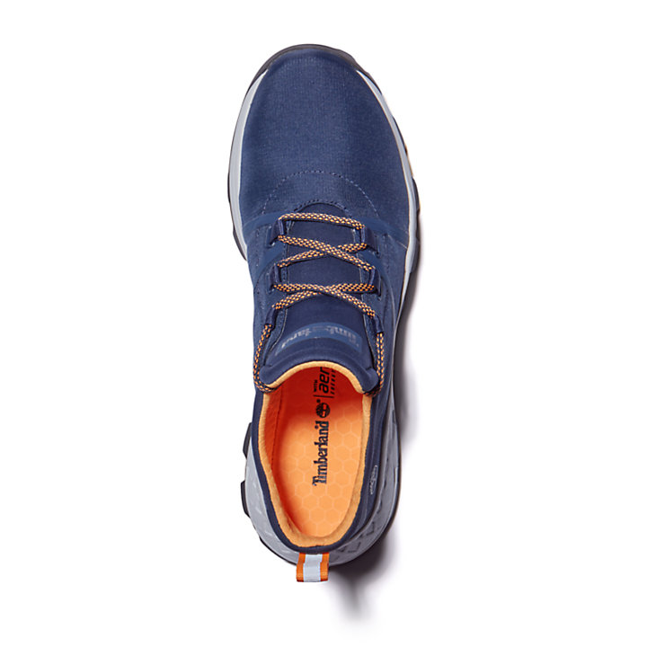 Brooklyn Fabric Oxford Sneaker for Men in Navy-