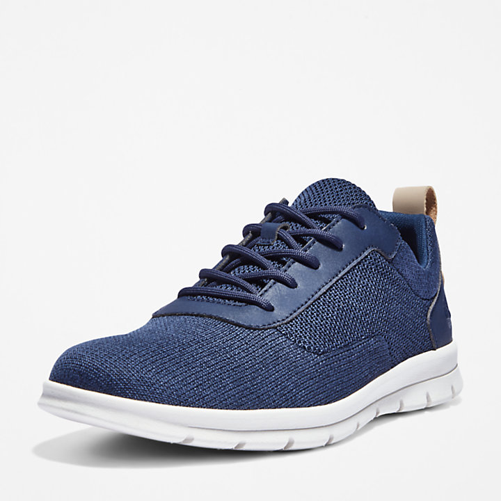 Sneaker da Uomo in Tela Graydon in blu marino-