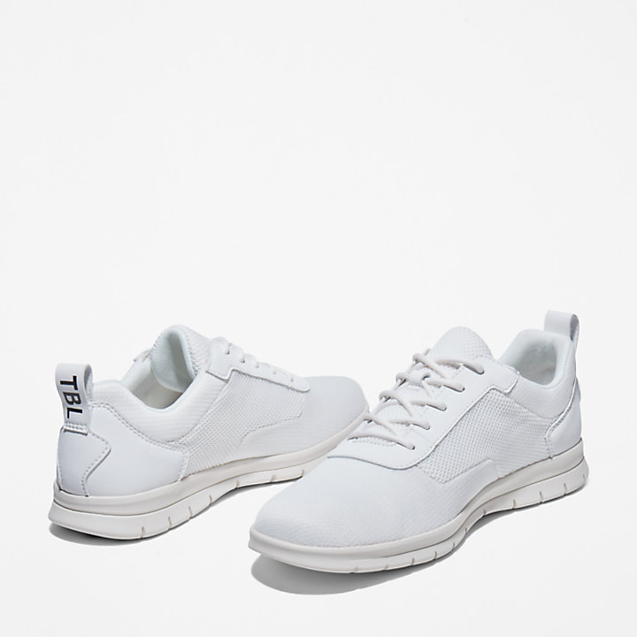 Graydon Canvas Sneaker for Men in White-