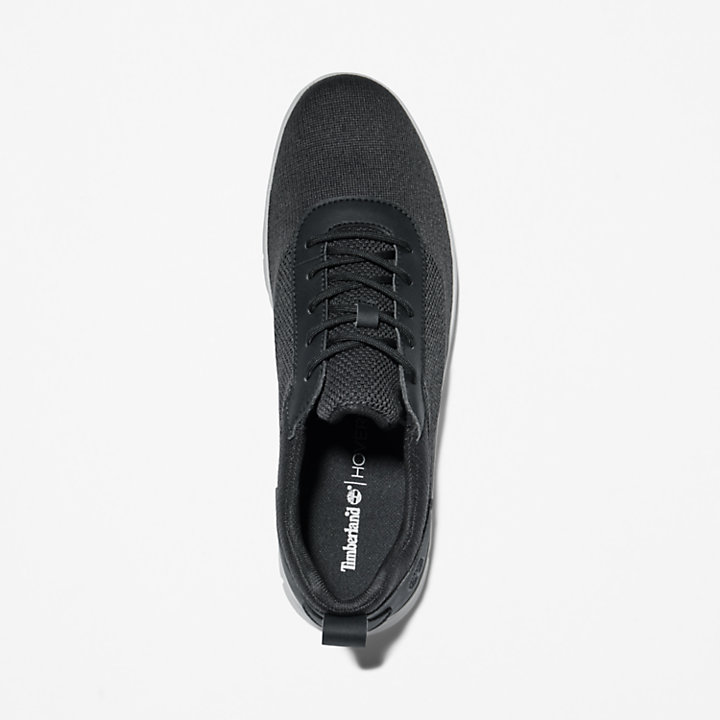 Graydon Canvas Sneaker for Men in Black-