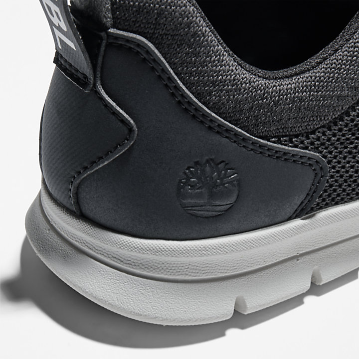 Sneaker da Uomo in Tela Graydon in colore nero-
