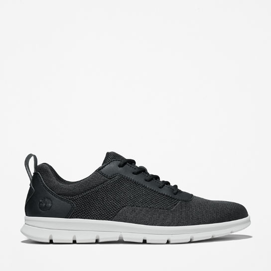 Graydon Canvas Sneaker for Men in Black | Timberland