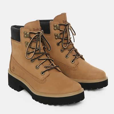 Carnaby+Cool+6+Inch+Boot+voor+Dames+in+beige+nubuck