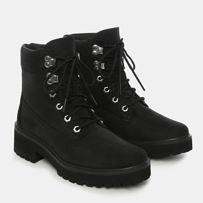 Carnaby+Cool+6+Inch+Boot+for+Women+in+Black+Nubuck