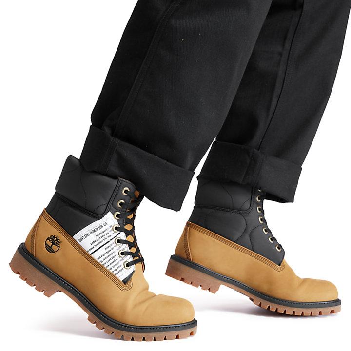 Bota 6 Inch Tree Pack Premium para Hombre en amarillo-