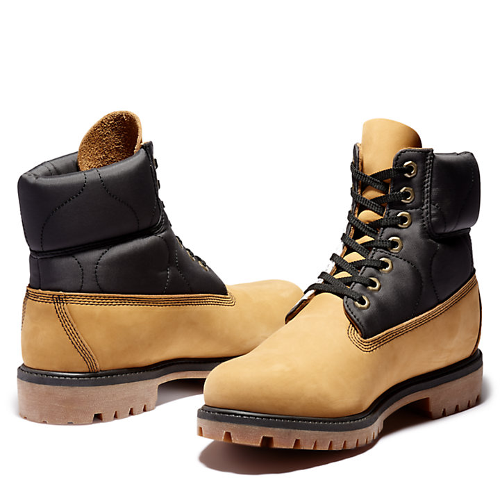 Tree Pack Premium 6 Inch Boot for Men in Yellow-