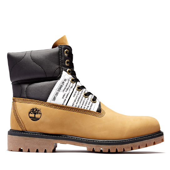 Tree Pack Premium 6 Inch Boot for Men in Yellow | Timberland