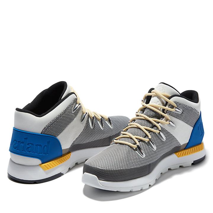 Chukka Sprint Trekker para hombre en blanco/azul-