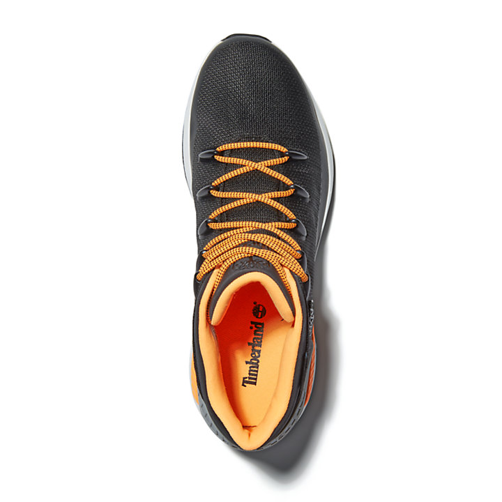 Sprint Trekker Mid Hiker for Men in Black/Orange-