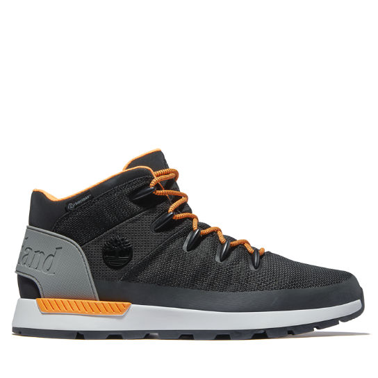 Sprint Trekker Mid Hiker for Men in Black/Orange | Timberland
