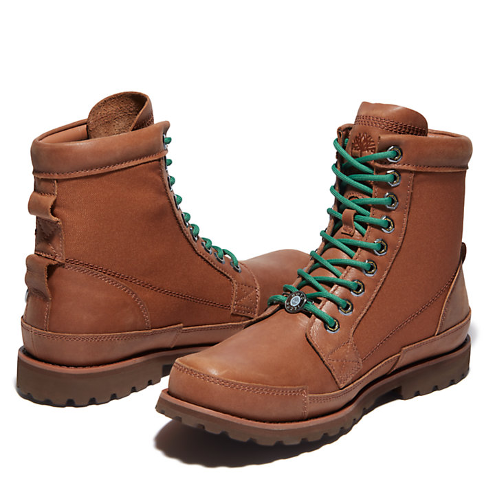 Moto Guzzi x Timberland® Original Leather 6 Inch Boot voor heren in bruin-