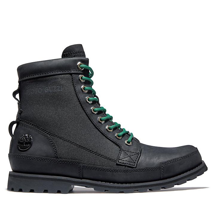 Moto Guzzi x Timberland® Original Leather 6 Inch Boot voor heren in zwart-
