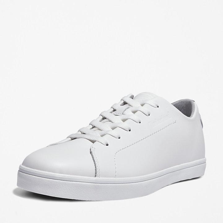 Skape Park Leather Sneaker for Men in White-