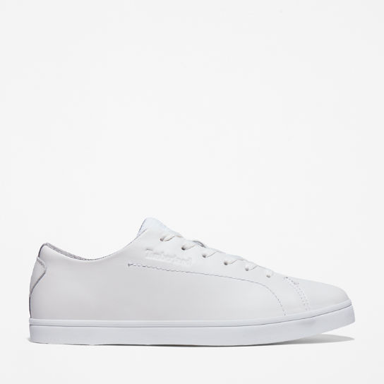 Skape Park Leather Sneaker for Men in White | Timberland