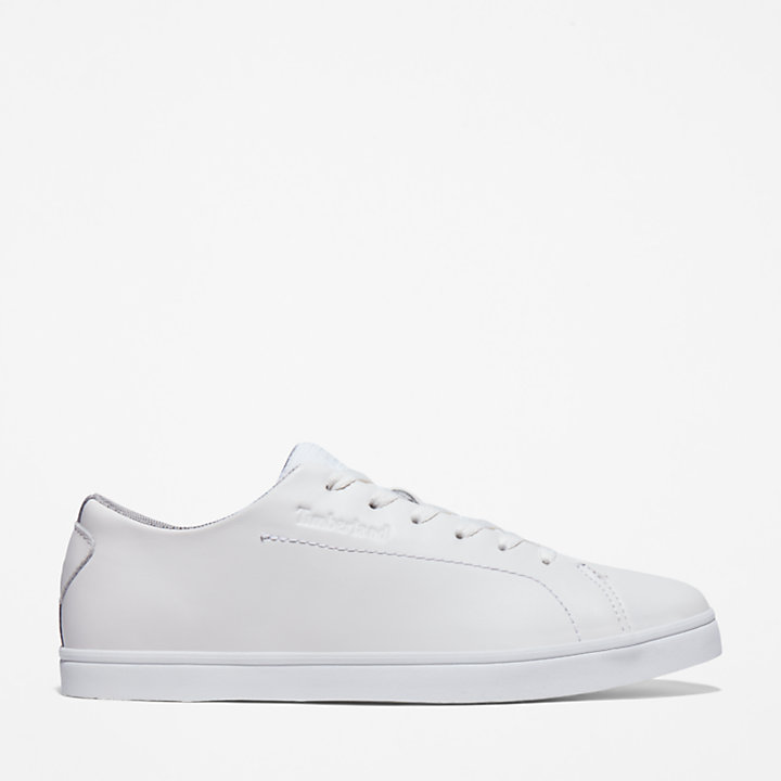 Skape Park Leather Sneaker for Men in White-