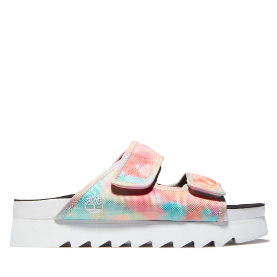 Santa Monica Sunrise Slide Sandal for Women in Tie Dye | Timberland