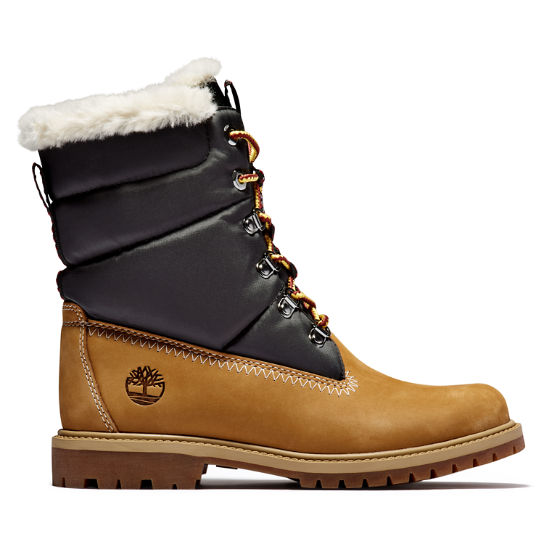 Heritage 7 Inch Warm Boot for Women in Yellow | Timberland