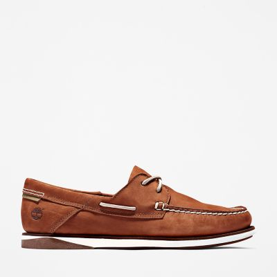 Atlantis+Break+Boat+Shoe+for+Men+in+Brown