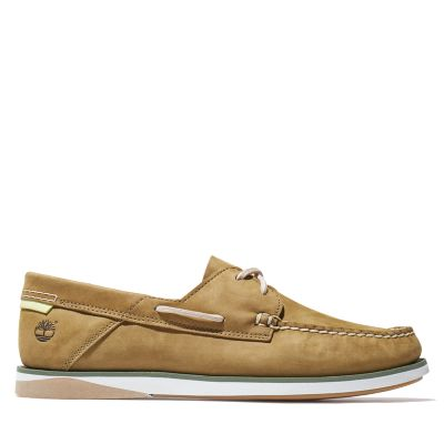 Atlantis+Break+Boat+Shoe+for+Men+in+Green