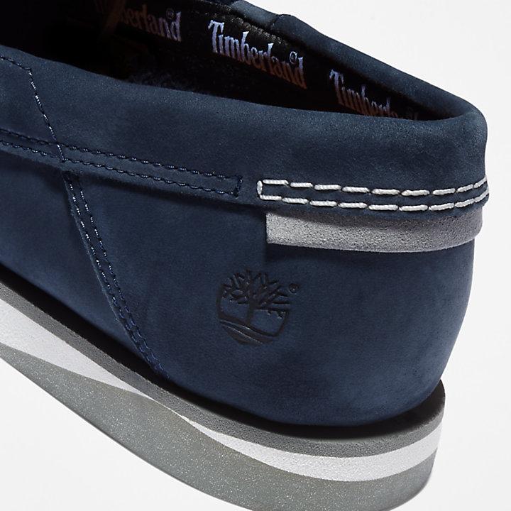 Atlantis Break Boat Shoe for Men in Navy-