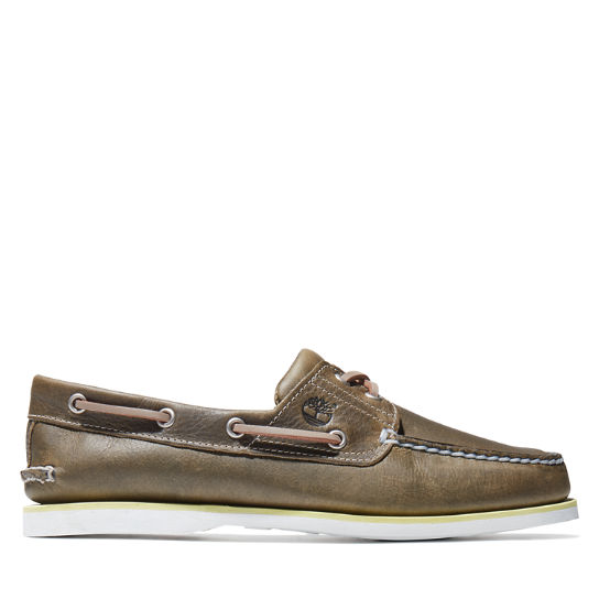 Classic Boat Shoe for Men in Greige | Timberland