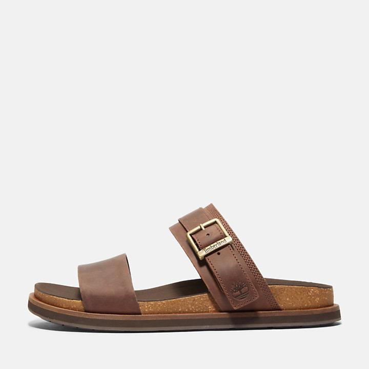 Amalfi Vibes 2 Band-strap Sandal for Men in Dark Brown-