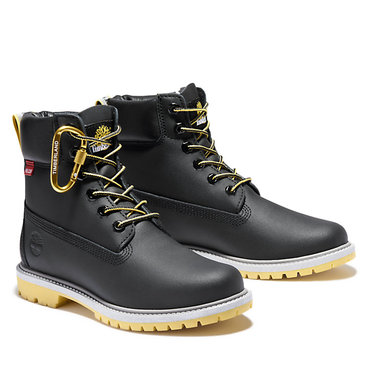 Heritage 6 Inch Boot for Women in Black-