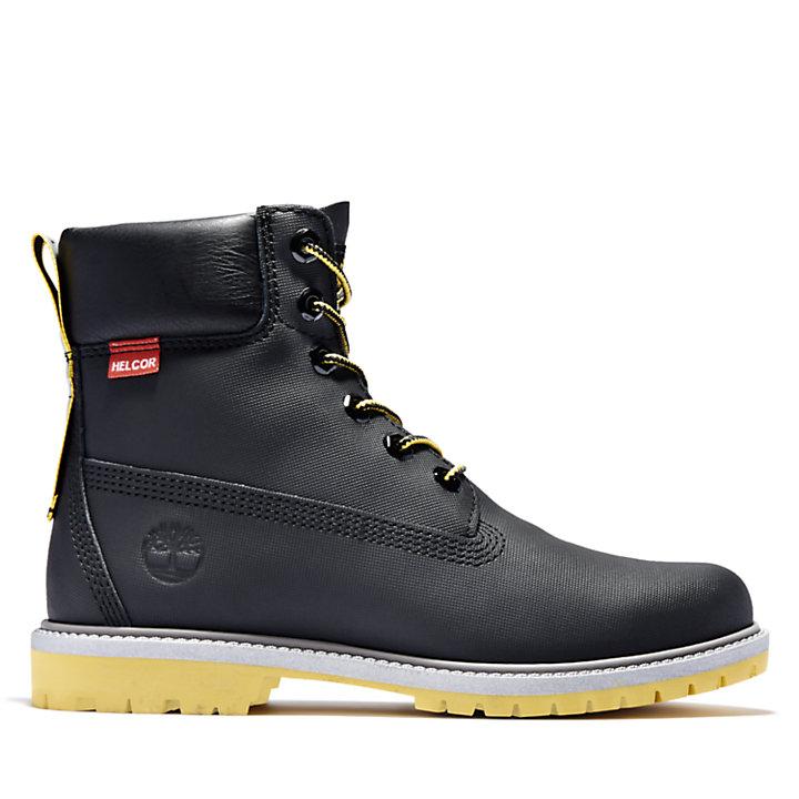 Heritage 6 Inch Boot voor dames in zwart-