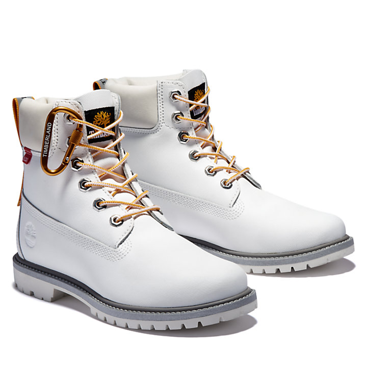 Heritage 6 Inch Boot for Women in White-