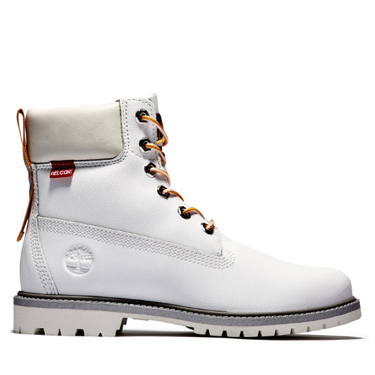Heritage 6 Inch Boot for Women in White | Timberland