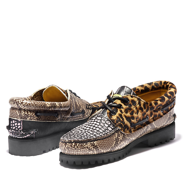 Chinatown Market x Timberland® Boat Shoe for Men in Animal Print-