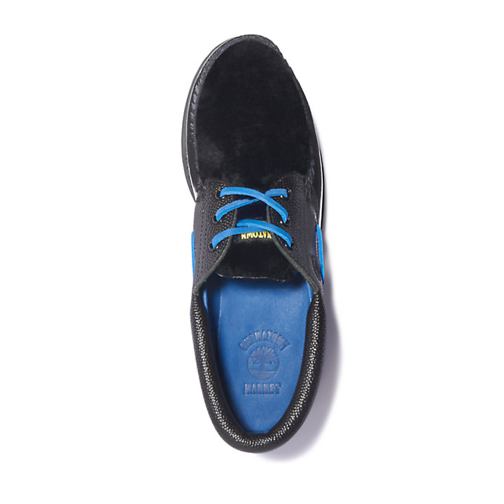 Chinatown Market x Timberland® Boat Shoe for Men in Black-