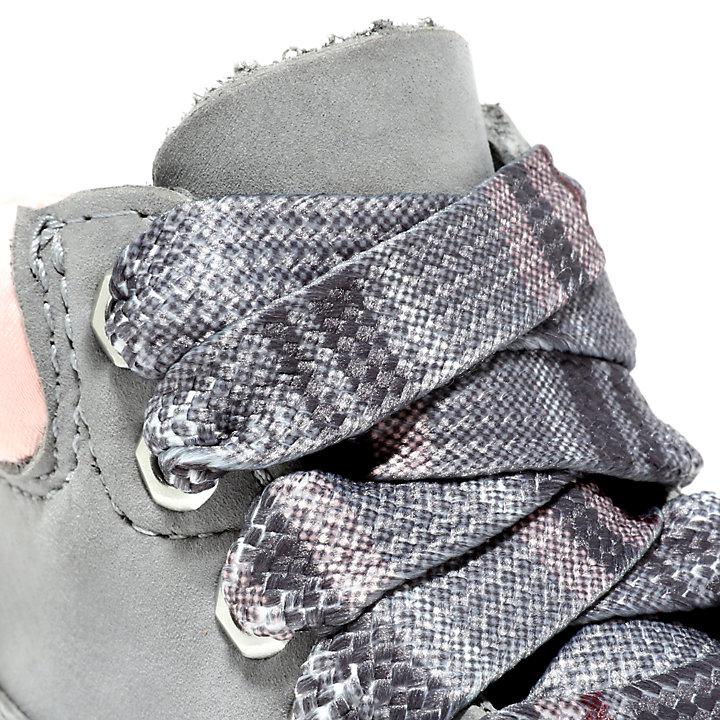 Premium 6-Inch-Stiefel für Kleinkinder in Grau-