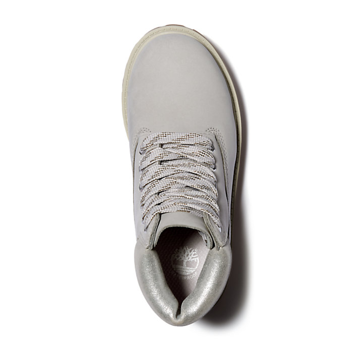 Bota 6 Inch Premium para Niño (de 35,5 a 40) en gris claro-