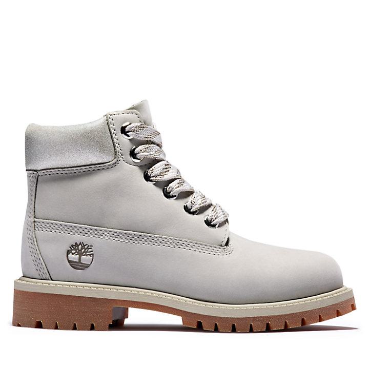 Premium 6 Inch Boot voor Juniors in lichtgrijs-