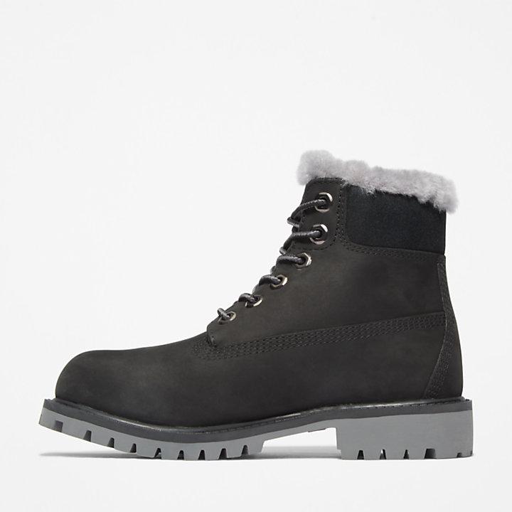 Botas de Invierno 6 Inch Premium Timberland® para Niño (de 35,5 a 40) en color negro-