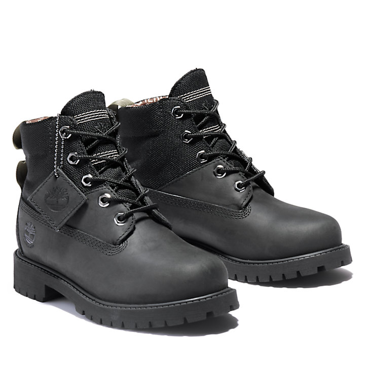 6-Inch Winter Boot Premium junior en noir-