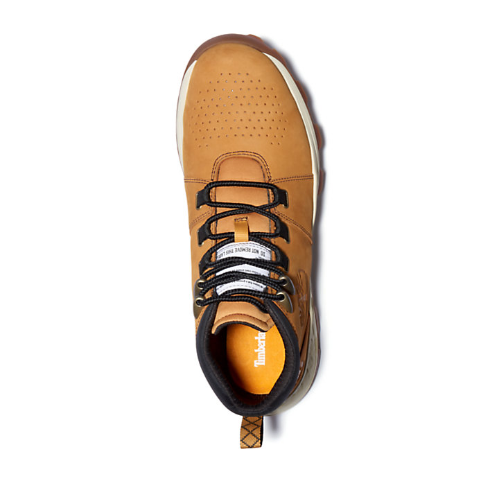 Chukka Stringato in Pelle da Uomo Brooklyn in giallo-